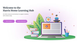 Harris Home Learning Hub