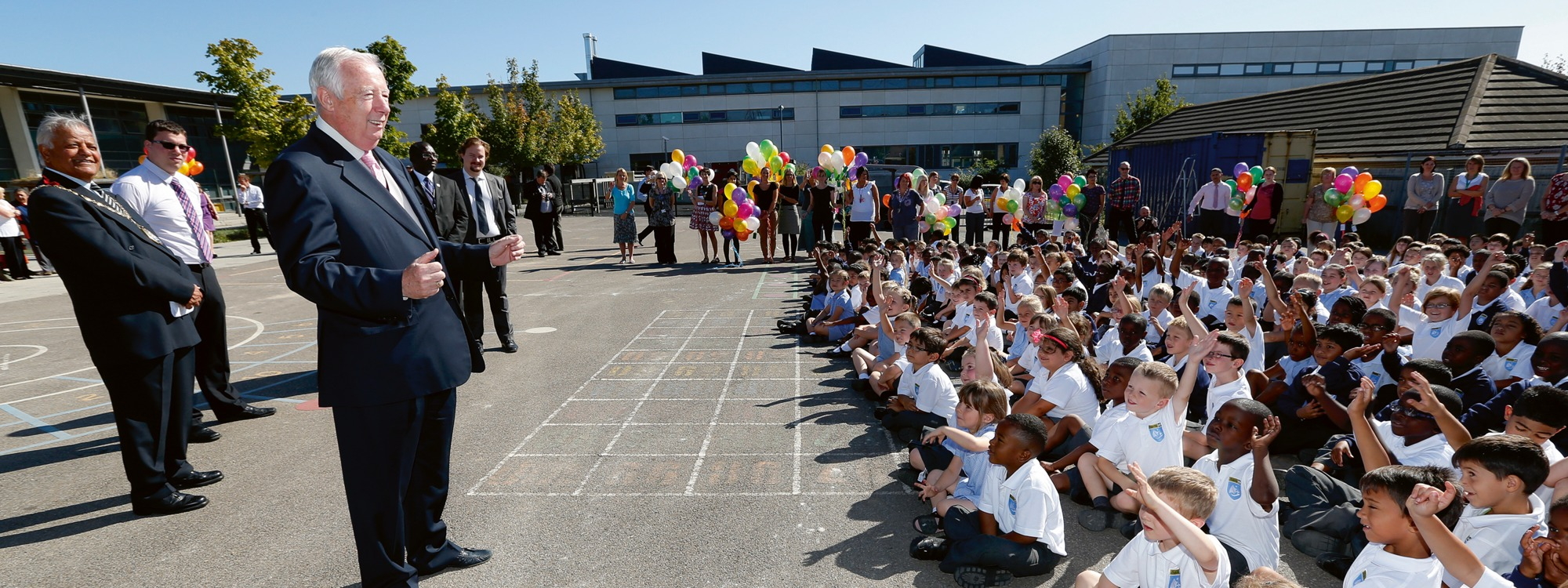 LordHarris Chafford Primary Opening